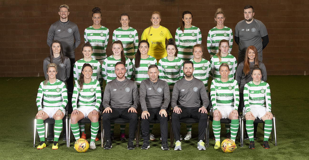 Celtic FC Women team photo 2019