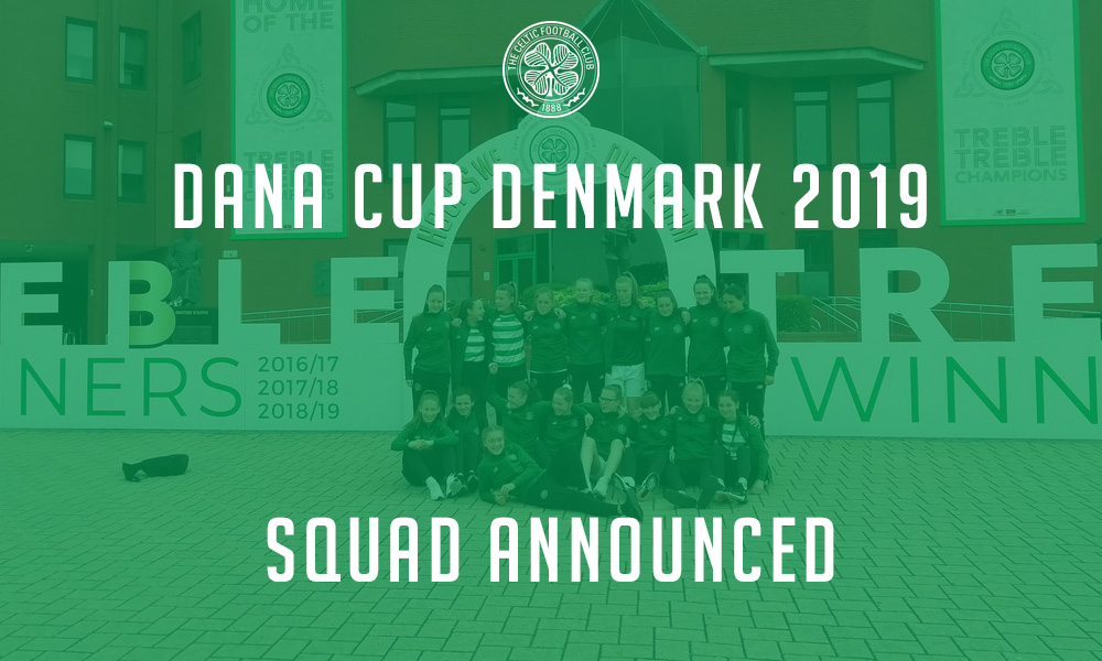Dana Cup squad announced as preparations gain pace