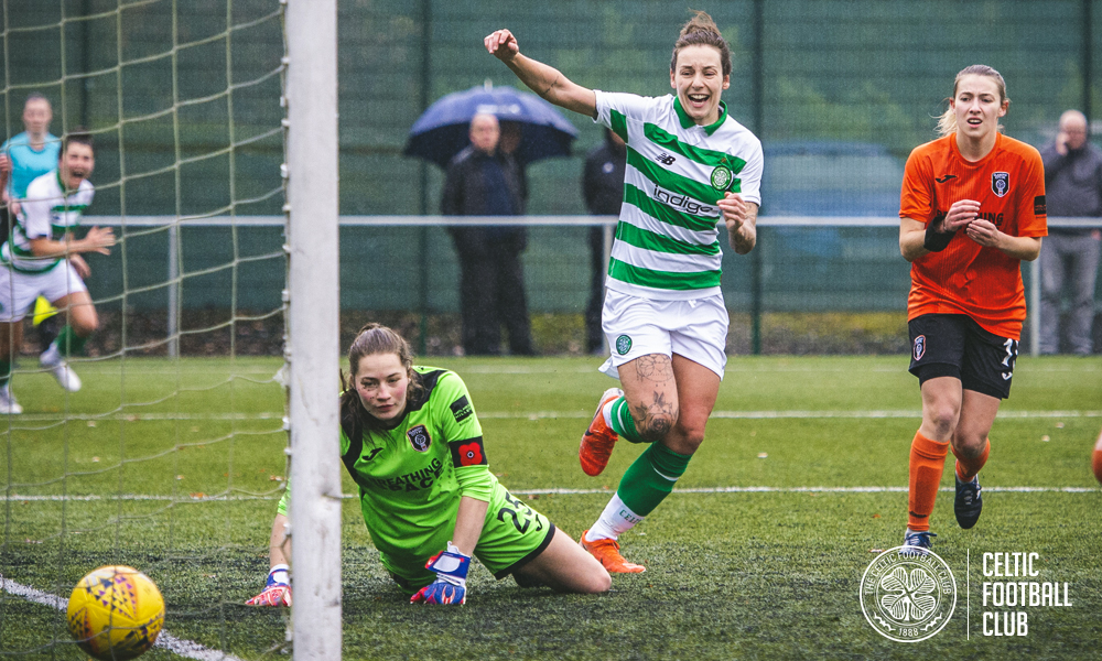 Double goal hero Sarah Ewens praises Celts' mentality after City win