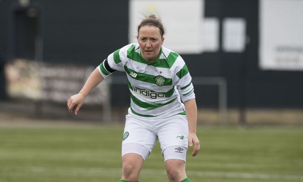 "Player of the match Kirsty McLaughlin: ""Hopefully we can kick on"""