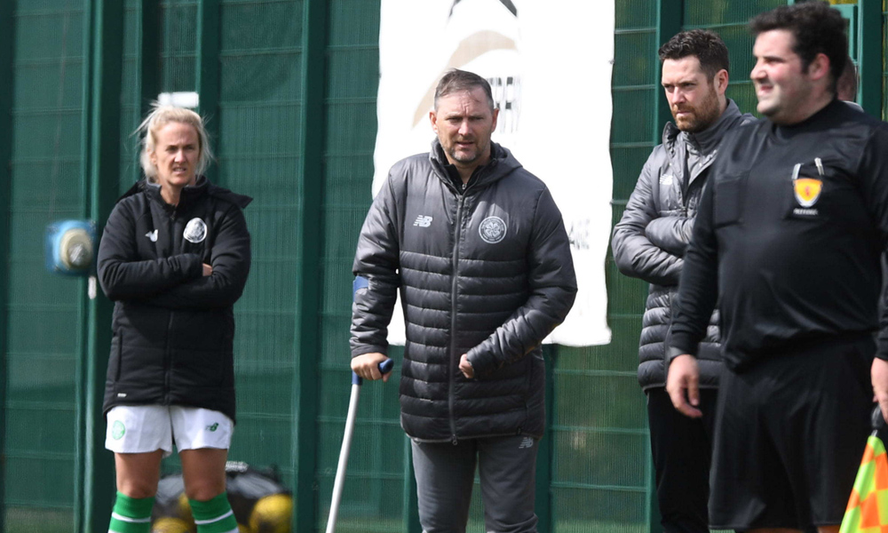 Wolecki Black shares pride for his players after huge Hibs win
