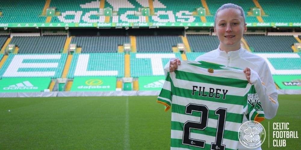 Anna Filbey: I'm ready to fight for my shirt at Celtic